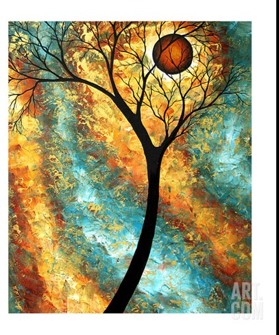 Fall Inspiration Stretched Canvas Print
