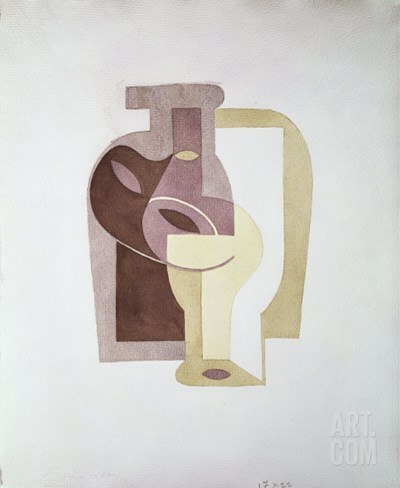 Still Life, c.1919 Stretched Canvas Print