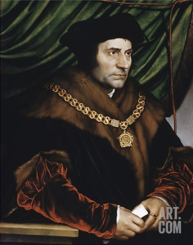 Sir Thomas More Stretched Canvas Print