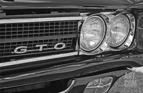 Pontiac Gto Stretched Canvas Print