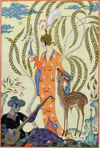 Persia, Illustration from The Art of Perfume, Pub. 1912 Stretched Canvas Print