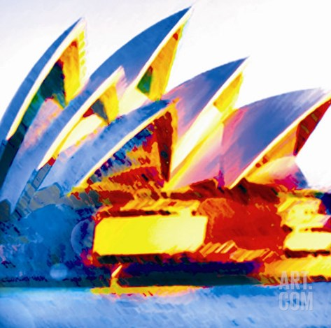 Opera House, Sydney Stretched Canvas Print
