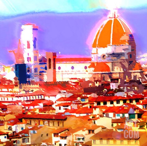 Florence, Italy Stretched Canvas Print
