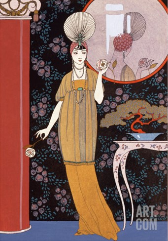 Sheherazade, France, Early 20th Century Stretched Canvas Print