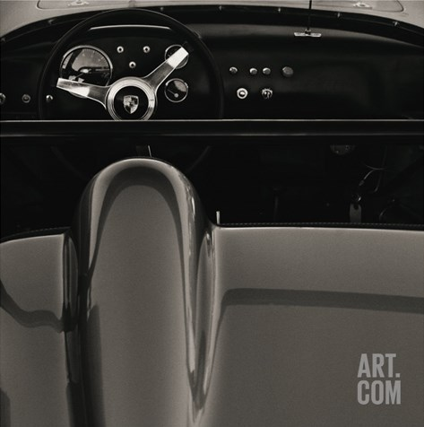 1960 Porsche Stretched Canvas Print