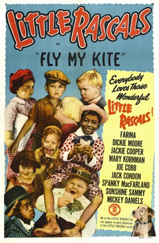 Fly My Kite, 1931 Stretched Canvas Print