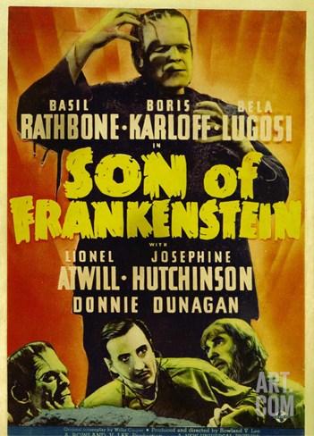 Son of Frankenstein, 1939 Stretched Canvas Print