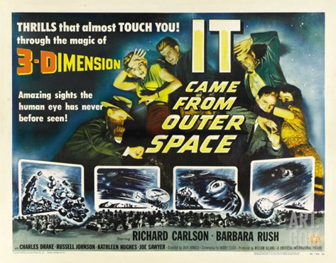 It Came from Outer Space, 1953 Stretched Canvas Print