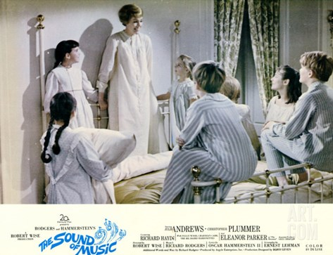 The Sound of Music, 1965 Stretched Canvas Print
