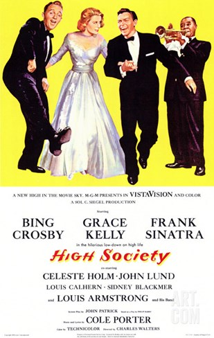 High Society, 1956 Stretched Canvas Print