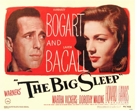 The Big Sleep, 1946 Stretched Canvas Print