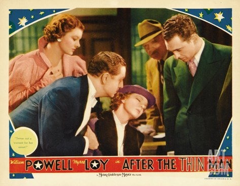 After the Thin Man, 1936 Stretched Canvas Print