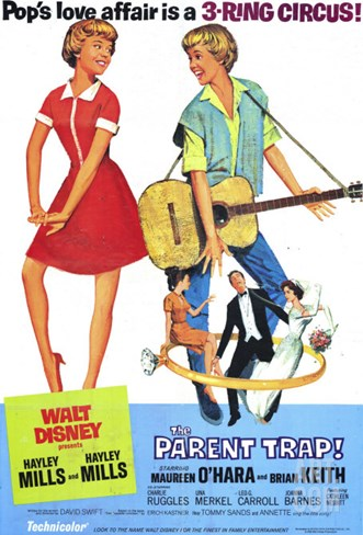 The Parent Trap, 1968 Stretched Canvas Print