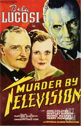 Murder By Television, 1935 Stretched Canvas Print