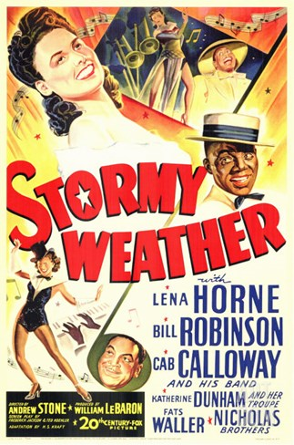 Stormy Weather, 1943 Stretched Canvas Print