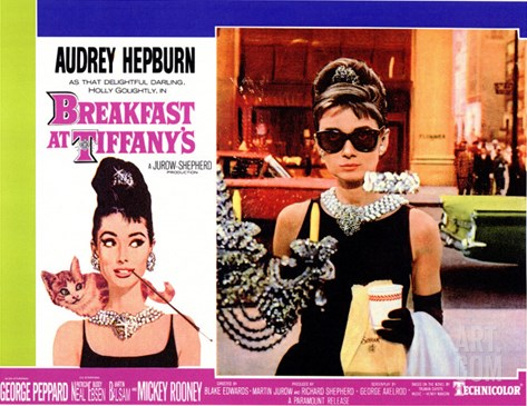 Breakfast At Tiffany's, 1961 Stretched Canvas Print