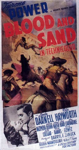 Blood and Sand, 1941 Stretched Canvas Print