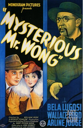 Mysterious Mr. Wong, 1935 Stretched Canvas Print
