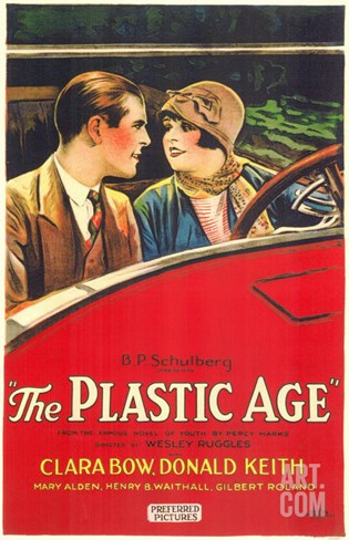 The Plastic Age, 1925 Stretched Canvas Print
