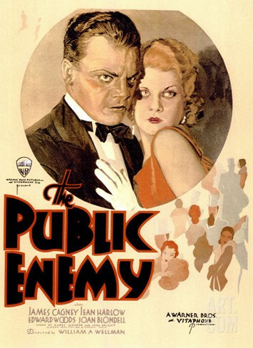The Public Enemy, 1931 Stretched Canvas Print