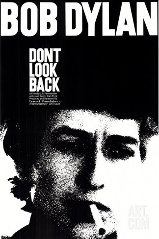 Don't Look Back, 1967 Stretched Canvas Print