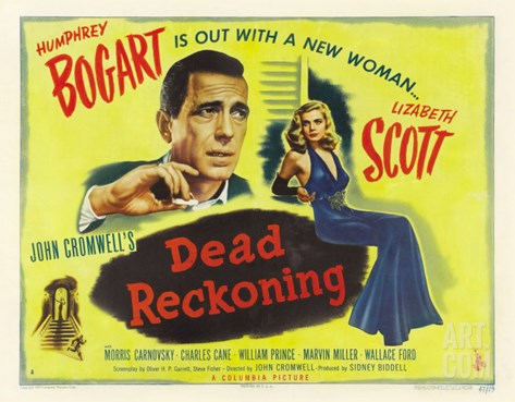 Dead Reckoning, 1947 Stretched Canvas Print