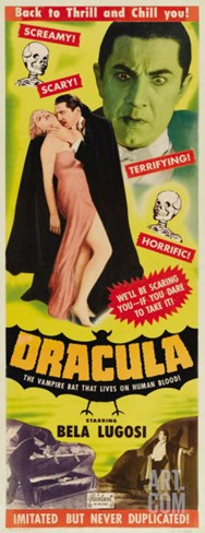 Dracula, 1931 Stretched Canvas Print