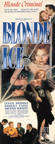 Blonde Ice, 1948 Stretched Canvas Print