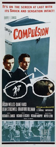 Compulsion, 1958 Stretched Canvas Print