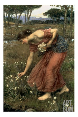 Narcissus, 1912 Stretched Canvas Print
