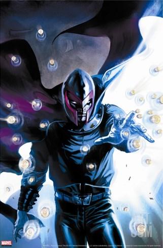 Ultimate Origins No.3 Cover: Magneto Stretched Canvas Print