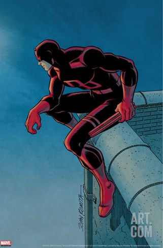 Daredevil #500: Daredevil Stretched Canvas Print