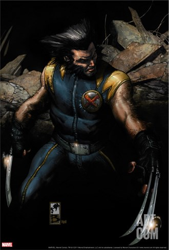 Ultimate Origins No.1 Cover: Wolverine Stretched Canvas Print