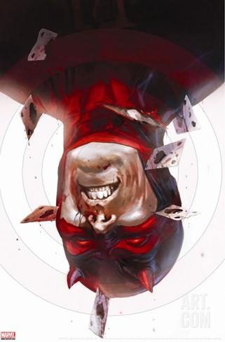 Daredevil No.115 Cover: Daredevil Stretched Canvas Print