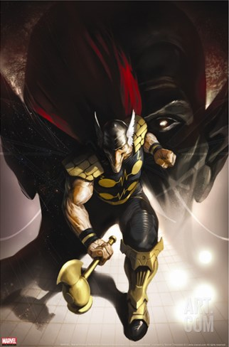 Secret Invasion Aftermath: Beta Ray Bill - The Green Of Eden No.1 Cover: Beta-Ray Bill Stretched Canvas Print