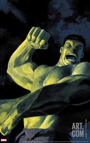 NightMerica No.5 Cover: Hulk Stretched Canvas Print