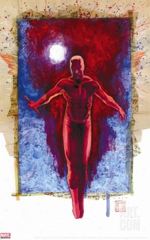 Daredevil No.500: Daredevil Stretched Canvas Print