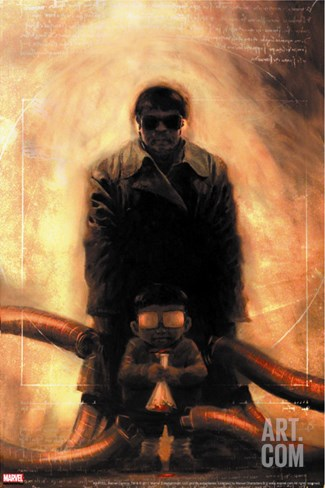 Spider-Man Doctor Octopus No.1 Cover: Doctor Octopus Stretched Canvas Print