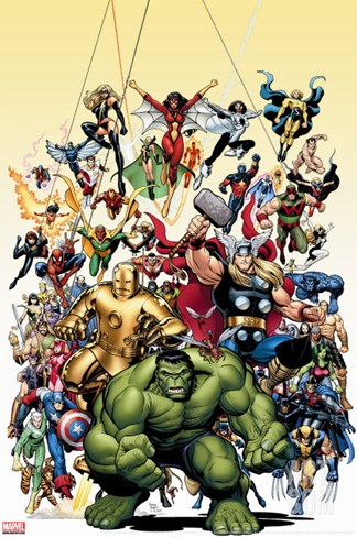 Avengers Classics No.1 Cover: Hulk Stretched Canvas Print