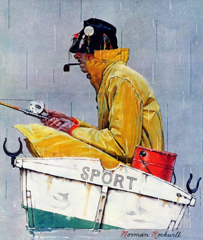 """Sport"", April 29,1939 Stretched Canvas Print"