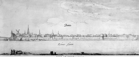 Bonn, C.1630-36 Stretched Canvas Print