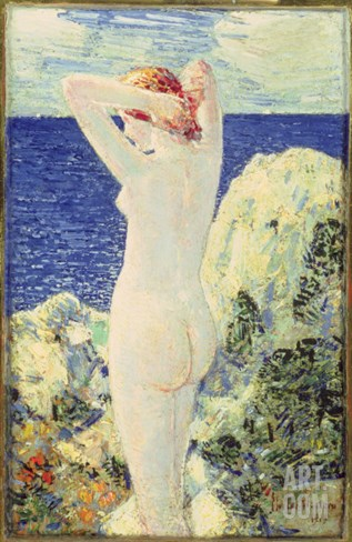 The Bather, 1915 Stretched Canvas Print