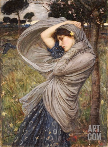 Boreas, 1903 Stretched Canvas Print