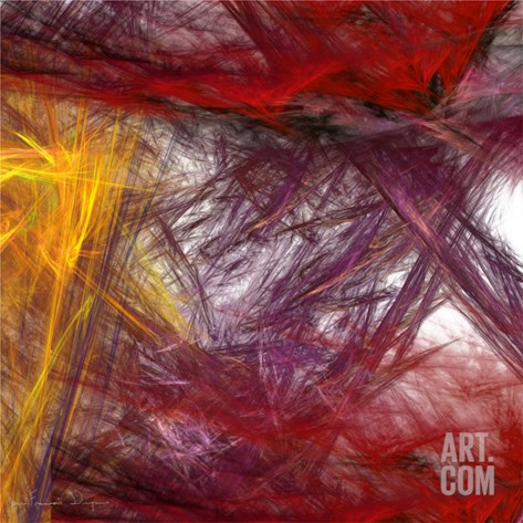 Illusion II Stretched Canvas Print