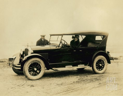 Touring Car, Circa 1920s Stretched Canvas Print