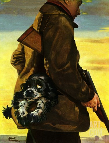 """Pocket Pal,"" November 17, 1945 Stretched Canvas Print"