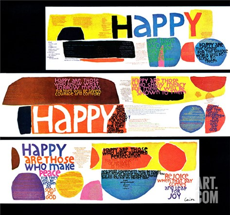 """Happy Collage,"" December 28, 1968 Stretched Canvas Print"