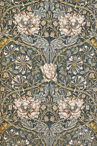 The Art of William Morris Stretched Canvas Print