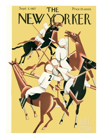 The New Yorker Cover - September 3, 1927 Stretched Canvas Print