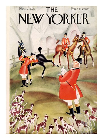 The New Yorker Cover - November 2, 1929 Stretched Canvas Print